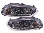 Кристални фарове с LED светлини за Alfa Romeo 156 98-02