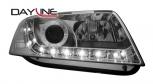 Кристални фарове Audi A6 4B 97-01 с LED светлини