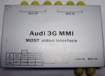 Audi MMI 3G MOST Аудио Видео Интерфейс