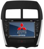 Double Din / Двоен дин DVD GPS TV за Mitsubishi ASX 2