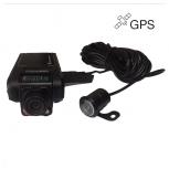 """2 камери за кола за напред и за задно виждане, 720P резолюция, G-сензор, GPS лог, 2.5"""" lcd екран , модел P9 AV"""