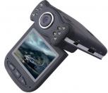 """2 мегапикселова камера за кола, с 2.4"""" въртящ се,TFT дисплей, резолюция 720P, широкоъгълна 120 градусова камера, 10 светлини за нощно заснемане, модел S8000"""