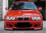CCFL Angel Eyes - Ангелски очи за BMW e46 3-та серия 98-2005 година