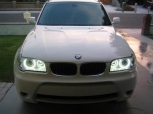 CCFL ANGEL EYES BMW X3 2003-2009 Ангелски очи