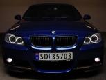 LED Angel Eyes крушки - Ангелски очи за BMW e90/е91 3-та серия 2005-2009 година