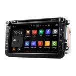 Навигация / Мултимедия с Android 8.0 или 7.1 за VW Golf, Passat, Tiguan, Touran, EOS, Caddy, Jetta и други DD-8015
