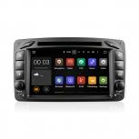 Навигация / Мултимедия с Android 8.0 или 7.1 за Mercedes C-class W203, CLK C209/W209 и други - DD-7063