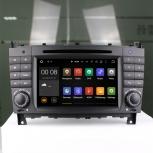 Навигация / Мултимедия с Android 6.0 или 7.1 за Mercedes C-class W203/CLK W209 - DD-7069