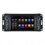 Навигация / Мултимедия с Android 8.0 или 7.1 за Chrysler Sebring, Jeep - Grand Cherokee, Commander, Wrangler  - DD-5620
