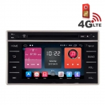 Навигация / Мултимедия с Android 6.0 и 4G/LTE за Toyota Hilux 2015 DD-K7141