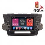 Навигация / Мултимедия с Android 6.0 и 4G/LTE за Toyota Highlander DD-K7128