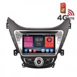 Навигация / Мултимедия с Android 6.0 и 4G/LTE за Hyundai Elantra 2012 DD-K7258