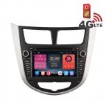Навигация / Мултимедия с Android 6.0 и 4G/LTE за Hyundai Verna DD-K7263