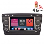 Навигация / Мултимедия с Android 6.0 и 4G/LTE за Skoda Octavia 2013-2014 DD-K7200