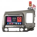 Навигация / Мултимедия с Android 6.0 и 4G/LTE за Honda Civic DD-K7307