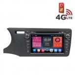 Навигация / Мултимедия с Android 6.0 и 4G/LTE за Honda City 2014 DD-K7317