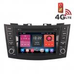 Навигация / Мултимедия с Android 6.0 и 4G/LTE за Suzuki Swift DD-K7653