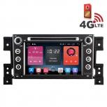 Навигация / Мултимедия с Android 6.0 и 4G/LTE за Suzuki Grand Vitara DD-K7660