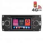 Навигация / Мултимедия с Android 6.0 и 4G/LTE за Chrysler 300C, Jeep Grand Cherokee и други DD-K7833