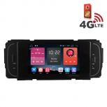 Навигация / Мултимедия с Android 6.0 и 4G/LTE за Chrysler Grand Voyager, Jeep Grand Cherokee и други DD-K7838