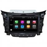 Навигация / Мултимедия с Android 7.1 NOUGAT за Hyundai I30 - DD-Q156