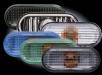 Кристални мигачи калник VW Passat (94-96) - сиви[3073]