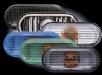 Кристални мигачи калник VW Golf 3 (96-) - сиви[3573]