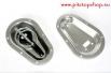 Шпленти за затваряне на преден капак SANDTLER - полиран алуминий[503641]