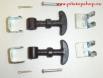 Шпленти за затваряне на преден капак SANDTLER - черно и хром[503644]
