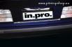 Хром лайсна за заден капак BMW E36 Limousine Mod. 06.92->04.98[511008]