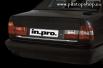 Хром лайсна за заден капак BMW E34 Limousine Mod. 01.88->11.95[511018]