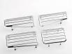 Хром рамки за вентилацията - VW Golf 3[FKCAV003]