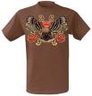 Тениска ''Eagle & Roses''[TS7163]