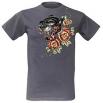 Тениска ''Panther & Roses''[TS7165]