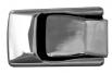 Хром дръжки за вратите Opel Calibra[DHO02]
