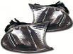 Кристални мигачи фар BMW E46 Coupe/Cabrio 01-02[FKBL08047]