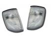 Кристални мигачи фар Mercedes Benz Е-Klasse W124 (93-95) - бели[FKBL155]
