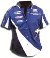 Дамска риза Racing FK с къс ръкав - L[FKPRM005-L]