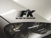 Стикер за преден капак FK Version 2 - черен[FKWE611]