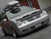 Кожа /защита/ за преден капак VW Polo 9N[bra.9n.001]